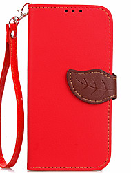 Недорогие -Чехол для xiaomi mi max2 6 чехол чехол карта держатель кошелек с подставкой флип полный корпус корпус сплошной цвет твердая кожа pu для