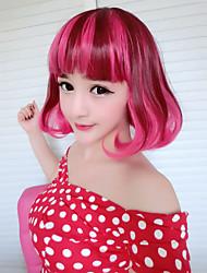 abordables -Pelucas de Cosplay Amaloli Rosado Lolita Peluca de Lolita  45 CM Pelucas de Cosplay Pelucas Para