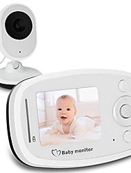 2.4g Wireless Video Baby Monitor mit HD Kamera Infrarot Nachtsicht Zwei-Wege-Talk-System