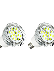 cheap -3W E14 LED Spotlight 16 leds SMD 5630 Warm White White 260-300lm 3000-3500/6000-6500K AC 220-240V