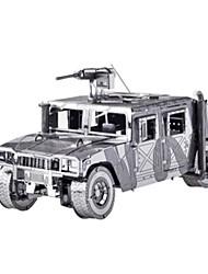 Недорогие -Игрушечные машинки 3D пазлы Пазлы Металлические пазлы Автомобиль Лошадь 3D Своими руками Алюминий Металл Классика 6 лет и выше