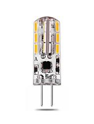 2.5W G4 Luci LED Bi-pin T 24 leds SMD 4014 Decorativo Bianco caldo Bianco 140-150lm 2800-6500