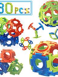 Недорогие -Конструкторы Обучающая игрушка Квадратный Eagle Своими руками Универсальные Игрушки Подарок