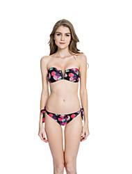 Muairen® Women'S European And American Fashion V-Print For The Top Bikini