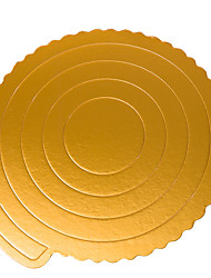 cheap -5 Pieces Baking Paper Pad Cake Pad Mousse Cake Paper Asked West Point Paper Tray Cake Decorating 8 Inches Round