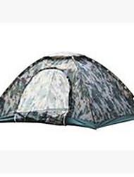 abordables -3-4 personnes Tente Unique Tente de camping Tente pliable Garder au chaud Résistant à la poussière pour Camping / Randonnée Autre matériel