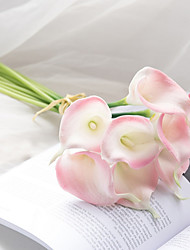 cheap -10 Branch High Simulation True Touch Common Callalily Home Decoration Artificial Flowers