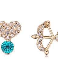 Women's Drop Earrings Synthetic Opal Rhinestone Basic Unique Design Geometric Friendship Hip-Hop Rock Multi-ways Wear Euramerican Gothic