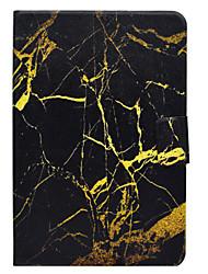 economico -Caso per la scheda galaxy samsung t580 t560 marmo modello pu materiale in pelle rivestimento protettivo piatto t550 t530 t350 t330 t280