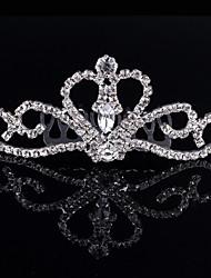 abordables -Cristal Strass Alliage Diadèmes Peignes Coiffure with Fleur 1pc Mariage Occasion spéciale Anniversaire Fête / Soirée Casque