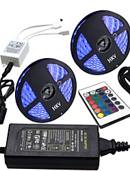 cheap -HKV 10m Light Sets 300 LEDs 5050 SMD RGB 100-240 V / IP65