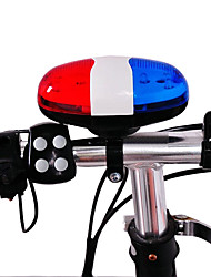 cheap -Bicycle Bell ABS 4 Timbre 6 Super Bright Leds Cycle Horns Electronic Ring Safety Warning Handlebar Alarm timbre bicicleta