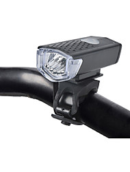 cheap -Front Bike Light LED LED Cycling Outdoor Easy to Carry Lithium Battery Lumens USB White Cycling/Bike Outdoor
