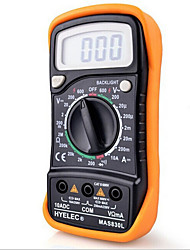 Hyelec Mas830L Mini Digital Multimeter Backlight Handheld Multifunction Multimeter