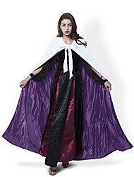 cheap -Witch Coat Cosplay Costume Cloak Witch Broom Halloween Props Party Costume Masquerade Not Specified Unisex Christmas Halloween Carnival