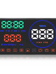 GEYIREN M9 HUD head-up displays with baffle HUD speed water temperature voltage head-up display fuel consumption