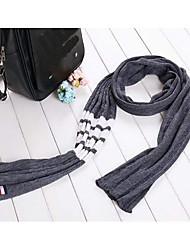 Women's Imitation Cashmere Infinity Scarf Striped Winter Fall/Autumn