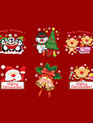 cheap -Wall Stickers Wall Decals Merry Christmas PVC Wall Stickers
