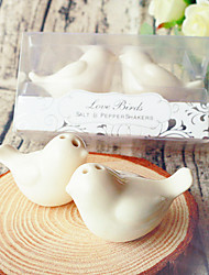 LOVE Birds Salt & Pepper Shakers Wedding Favor Wedding Favors