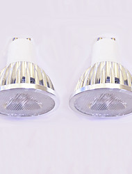 3W GU10 LED Spotlight MR16 3 leds High Power LED Dimmable Warm White White 260-300lm 3000-3500/6000-6500K AC 220-240V