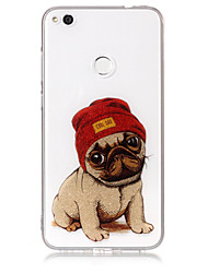 Case For Huawei P8 Lite (2017) P10 Lite Phone Case TPU Material IMD Process Dog Pattern HD Flash Powder Phone Case P9 Lite P8 Lite