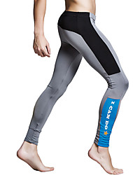 cheap -Men's Running Tights Gym Leggings Wearproof Breathability Tights Bottoms Running/Jogging Exercise & Fitness Polyester Terylene Tight