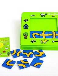 economico -Puzzle Labirinto Giocattoli Quadrato Anatra Animali Per bambini Pezzi