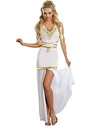 baratos -Fantasias Egípcias Queen Cleópatra Fantasias Fantasias de Cosplay Festa a Fantasia Mulheres Festival / Celebração Trajes da Noite das