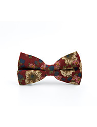 cheap -Men's Casual Bow Tie Print