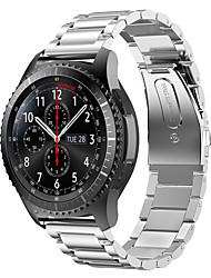 preiswerte -Uhrenarmband für Gear S2 Samsung Galaxy Sport Band Edelstahl Handschlaufe