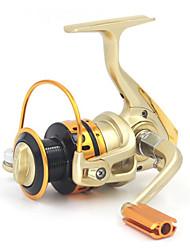 Fishing Reel Bearing Molinetes Rotativos 5:1 10 Rolamentos Trocável Pesca de Água Doce Pesca de Isco Pesca Geral Pesca de Isco e Barco-
