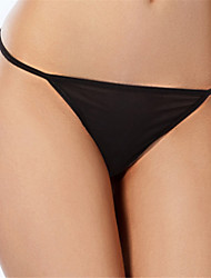 cheap -Women's Solid G-strings & Thongs Panties Ultra Sexy Panties Thin 1pc White Black Red