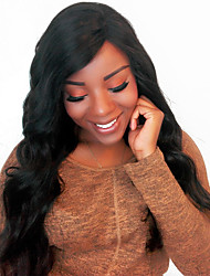 360 Lace Frontal Wig Body Wave Pre Plucked 180% Density Brazilian Remy Human Hair Medium Cap Size