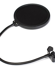 cheap -Studio Microphone Mic Wind Screen Pop Filter For Singing Recording With Gooseneck Holder