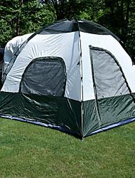 Недорогие -3-4 человека Палатка на кузов Световой тент Двойная Палатка На открытом воздухе Складной тент Водонепроницаемость Ультрафиолетовая