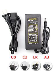 Недорогие -ac 100-240v до dc 12v 6a трансформаторный переключатель eu / au / uk / us plug 72w 5.5 * 2.5mm адаптер питания для светодиодной гибкой лампы