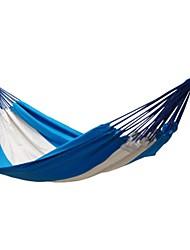 abordables -2 Personas Hamaca para camping Casual/Diario Lona Algodón Nailon para Camping Camping / Senderismo / Cuevas Al Aire Libre