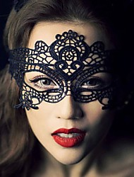 cheap -1Pcs Hot Sales Black Sexy Lady Lace Mask Eye Mask For Masquerade Party Fancy Dress Costume / Halloween Party Fancy