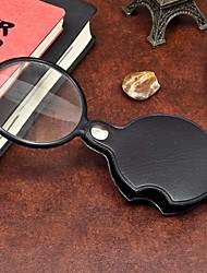 Недорогие -1шт портативный 60 мм лупы мини лупы инструмент для чтения луча для ночного чтения ramdon цвет