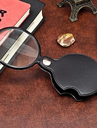 baratos -1pcs portátil 60mm magnifier mini lupa lupa ferramenta de leitura para leitura noturna ramdon cor