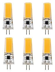 3W G4 Luci LED Bi-pin T 1 COB 300 lm Bianco caldo Bianco 3000-3500   6000-6500 K V