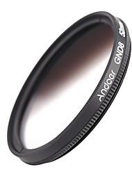 Andoer 52mm круглая форма градуированная нейтральная плотность gnd8 градуированный серый фильтр для камеры canon nikon dslr