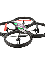 cheap -Drone WL Toys V666 4CH 6 Axis With 2.0MP HD Camera FPV LED Lighting Auto-Takeoff Headless Mode Hover RC Quadcopter Remote
