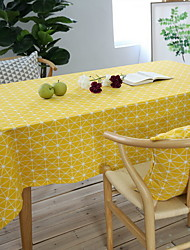 cheap -Cotton Blend Table cloths Printing Table Decorations 1 pcs