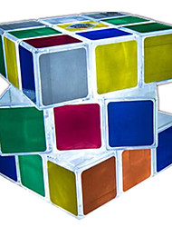 Rubik's Cube Smooth Speed Cube LED Lighting Magic Cube Plastics Square Gift