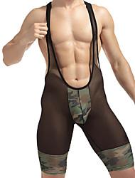 Men's Men Sexy Push-Up Voiles & Sheers Ultra Sexy Panties Long Johns