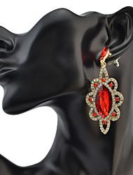 Women's Drop Earrings Crystal RhinestoneBasic Unique Design Rhinestones Geometric Friendship Gothic Movie Jewelry Luxury Statement