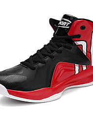 cheap -Men's Shoes PU Fall / Winter Comfort Athletic Shoes Basketball Shoes Black / Red
