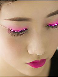 cheap -European And American Club Eyelashes LED Lamp Luminous Eyes