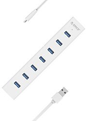 7 портов USB-концентратор USB 3.0 OTG Центр данных